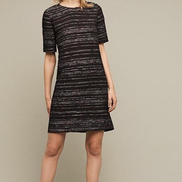 2e443e919a0f Anthropologie Dresses | Laura Siegel Stripe Textured Dress | Poshmark